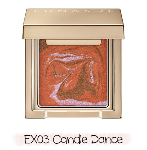 LUNASOL 2020 Winter Collection Merging Addict Merging Color Eyes EX03 Candle Dance