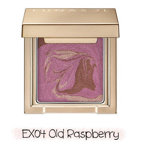 LUNASOL 2020 Winter Collection Merging Addict Merging Color Eyes EX04 Old Raspberry