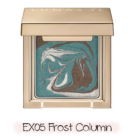 LUNASOL 2020 Winter Collection Merging Addict Merging Color Eyes EX05 Frost Column