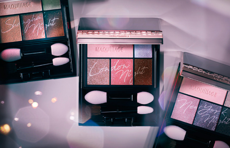 MAQuillAGE 2020 Holiday Collection Aurora Illumination Colors Dramatic Styling Eyes