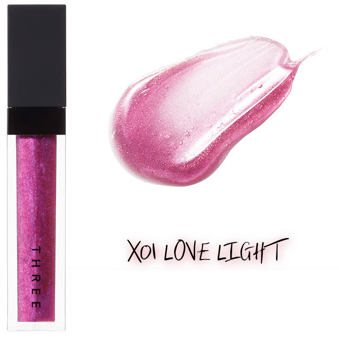 THREE 2020 Holiday Makeup Collection Metallic Muse Lip Crush X01 Love Light