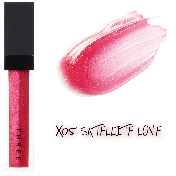 THREE 2020 Holiday Makeup Collection Metallic Muse Lip Crush X05 Satellite Love