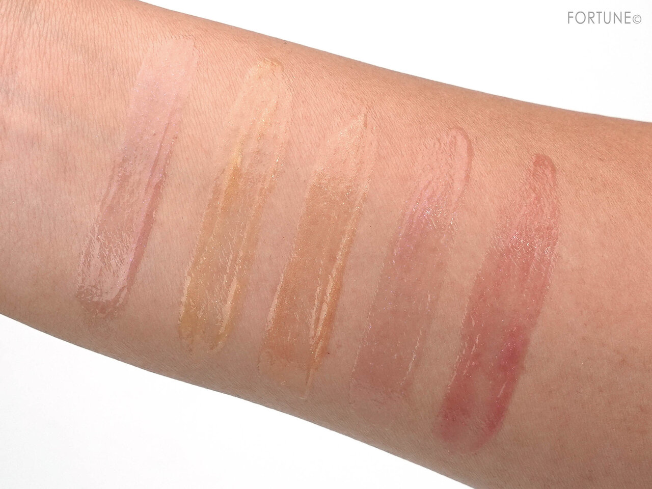 THREE 2020 Holiday Makeup Collection Metallic Muse Lip Crush swatch