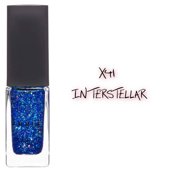 THREE 2020 Holiday Makeup Collection Metallic Muse Nail Polish X41 Interstellar