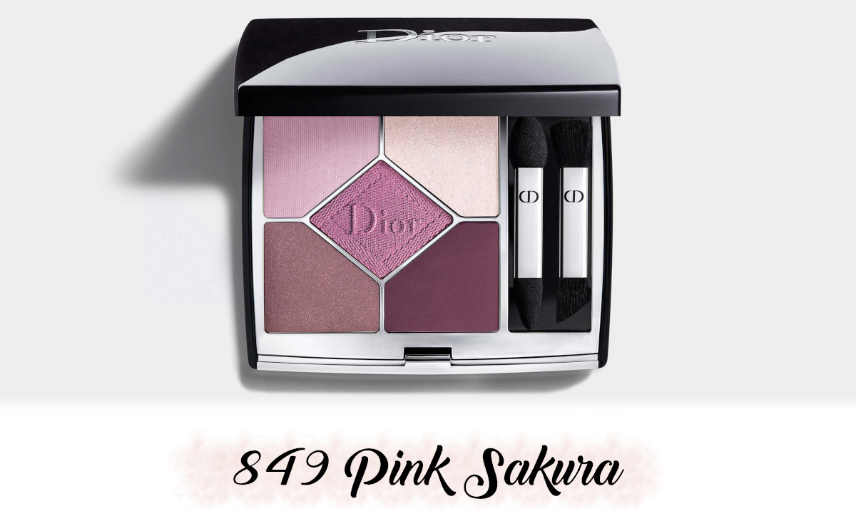 Dior Spring Collection 2021 Pure Glow 5 Couleurs Couture 849 Pink Sakura