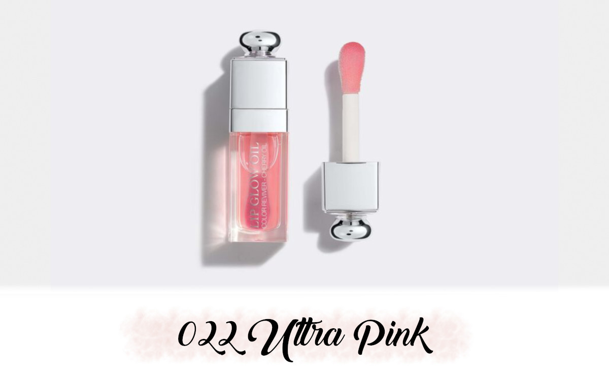 Dior Spring Collection 2021 Pure Glow Lip Glow Oil 022 Ultra Pink