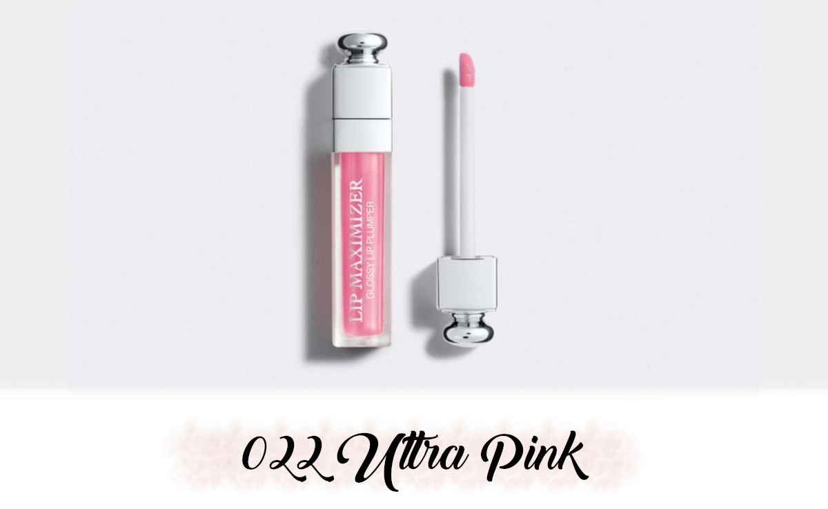 Dior Spring Collection 2021 Pure Glow Lip Maximizer 022 Ultra Pink