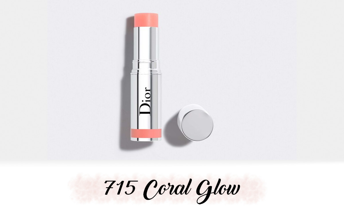 Dior Spring Collection 2021 Pure Glow Stick Glow 715 Coral Glow
