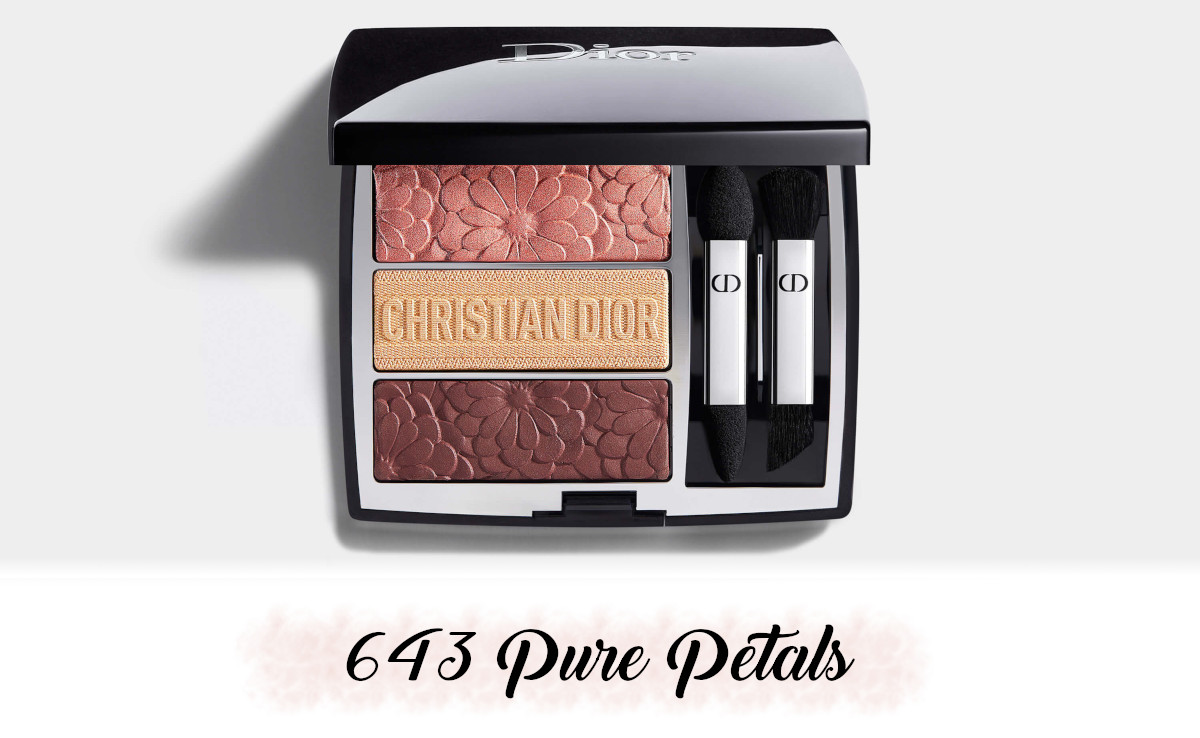 Dior Spring Collection 2021 Pure Glow Trio Brick Palette 643 Pure Petals