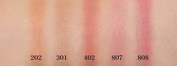DECORTE 2021 Spring Collection Sway Light Powder Blush swatch