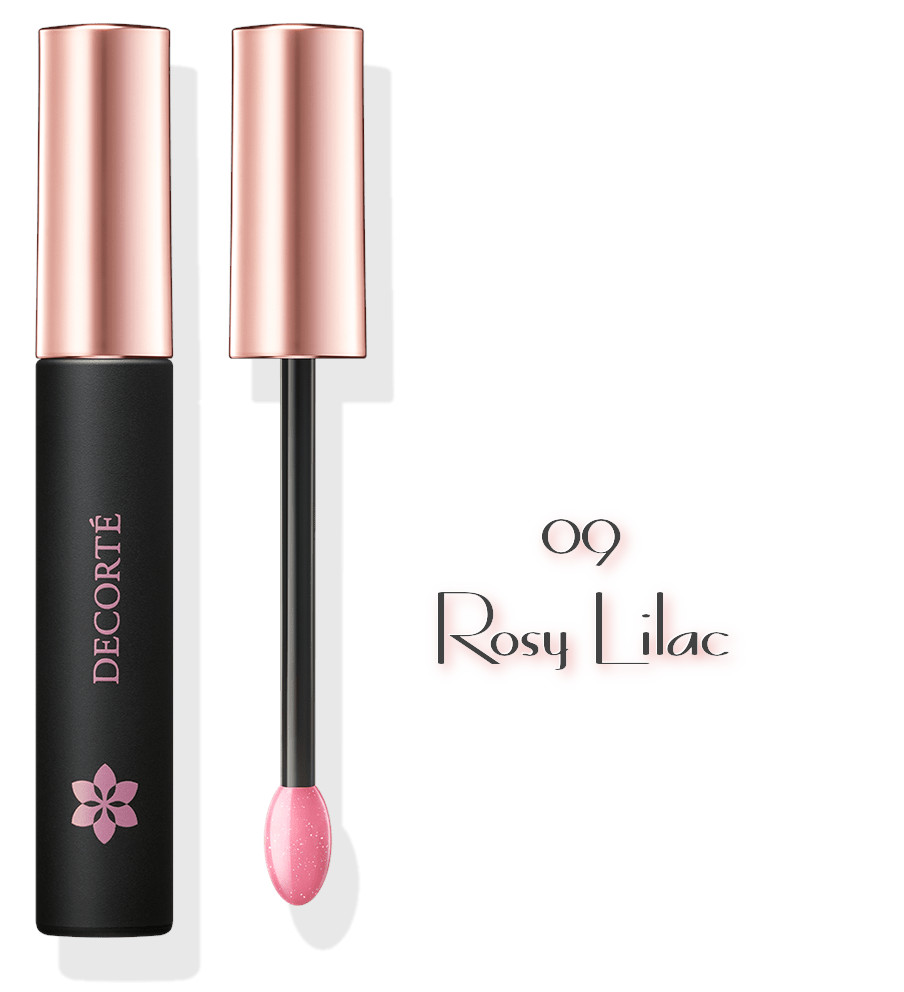 DECORTE 2021 Spring Collection Sway Light Tint Lip Gloss 09 Rosy Lilac
