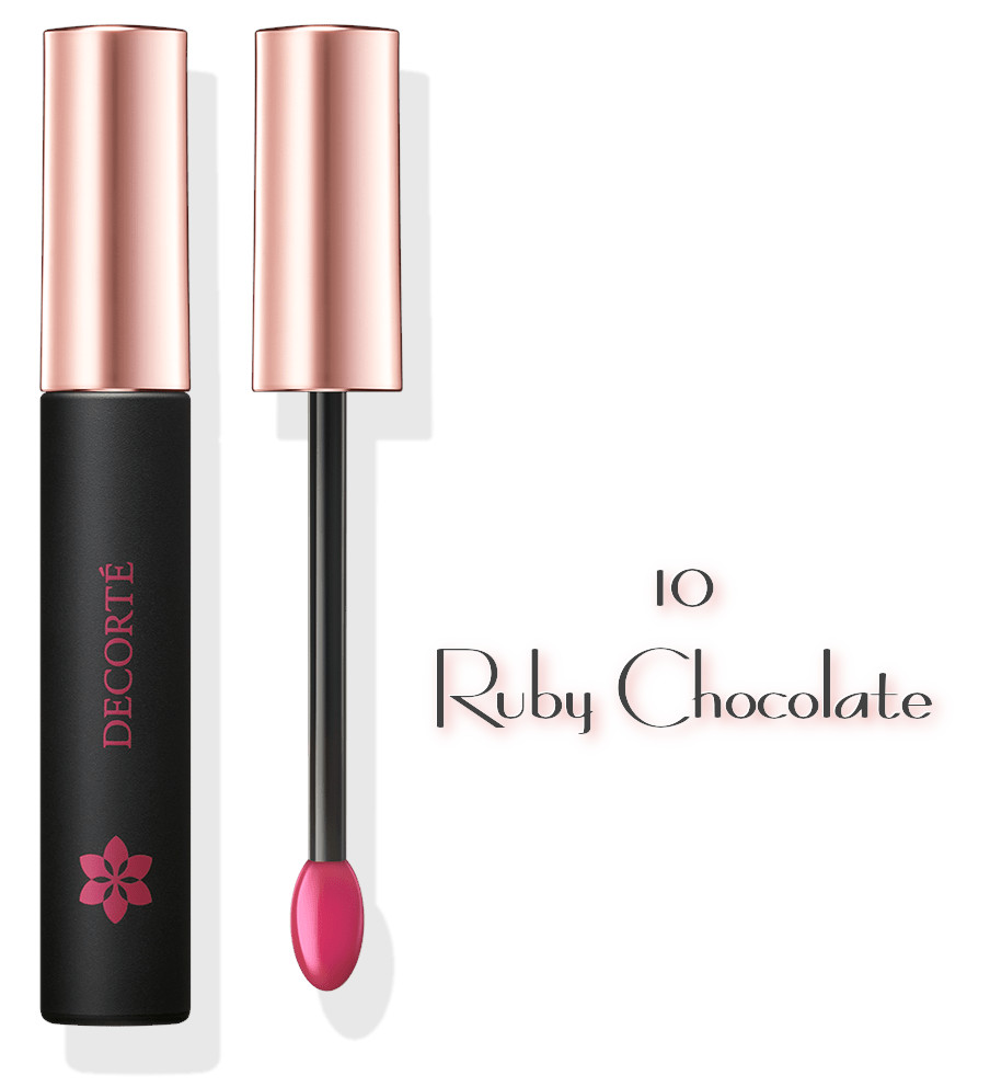 DECORTE 2021 Spring Collection Sway Light Tint Lip Gloss 10 Ruby Chocolate