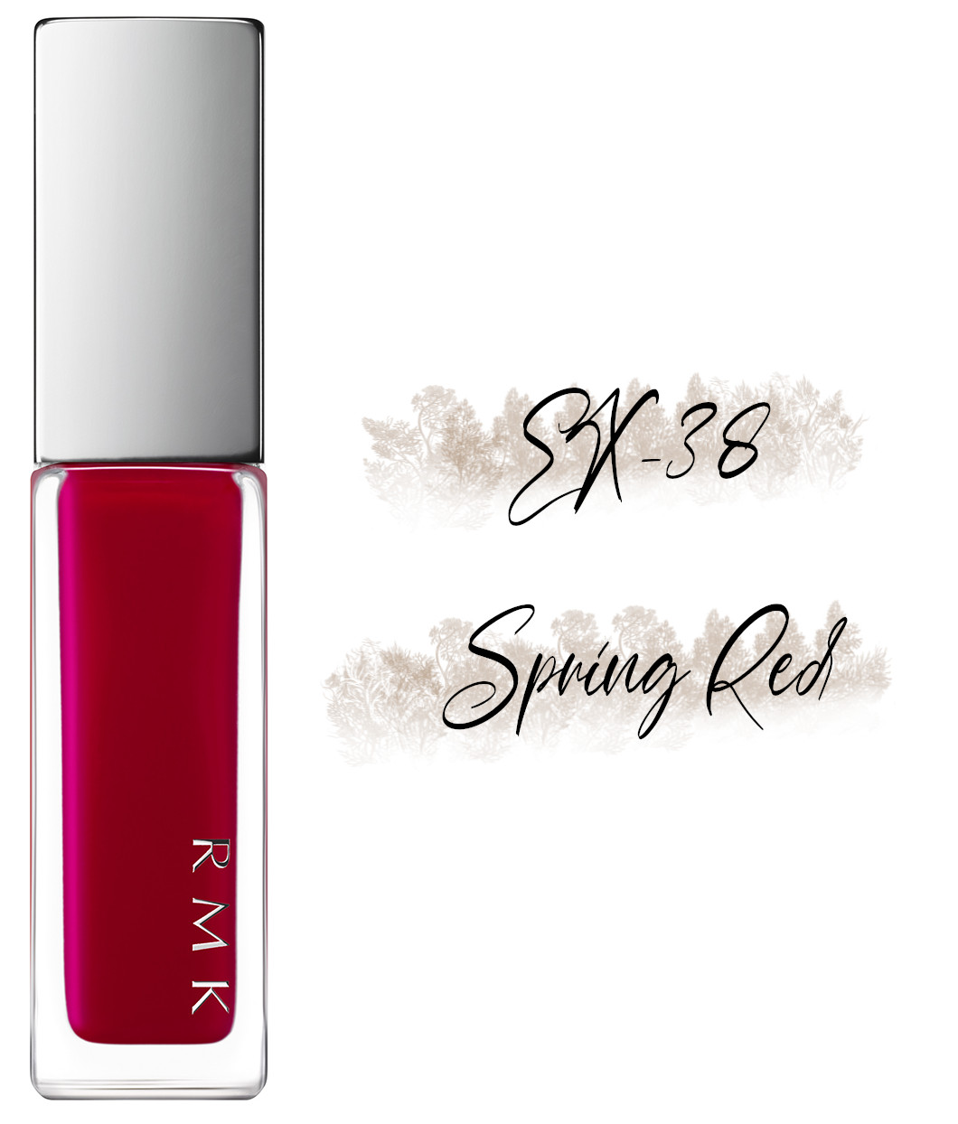 RMK Blooming in the City Spring-Summer 2021 Collection Nail Polish EX-38 Spring Red