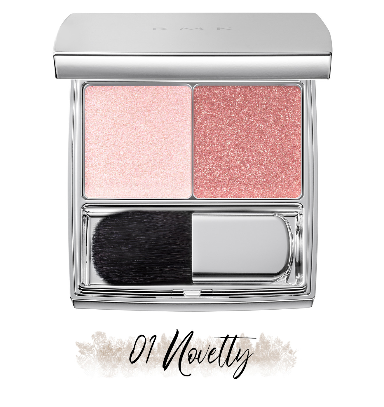 RMK Blooming in the City Spring-Summer 2021 Collection The Beige Library Blush Duo 01 Novelty