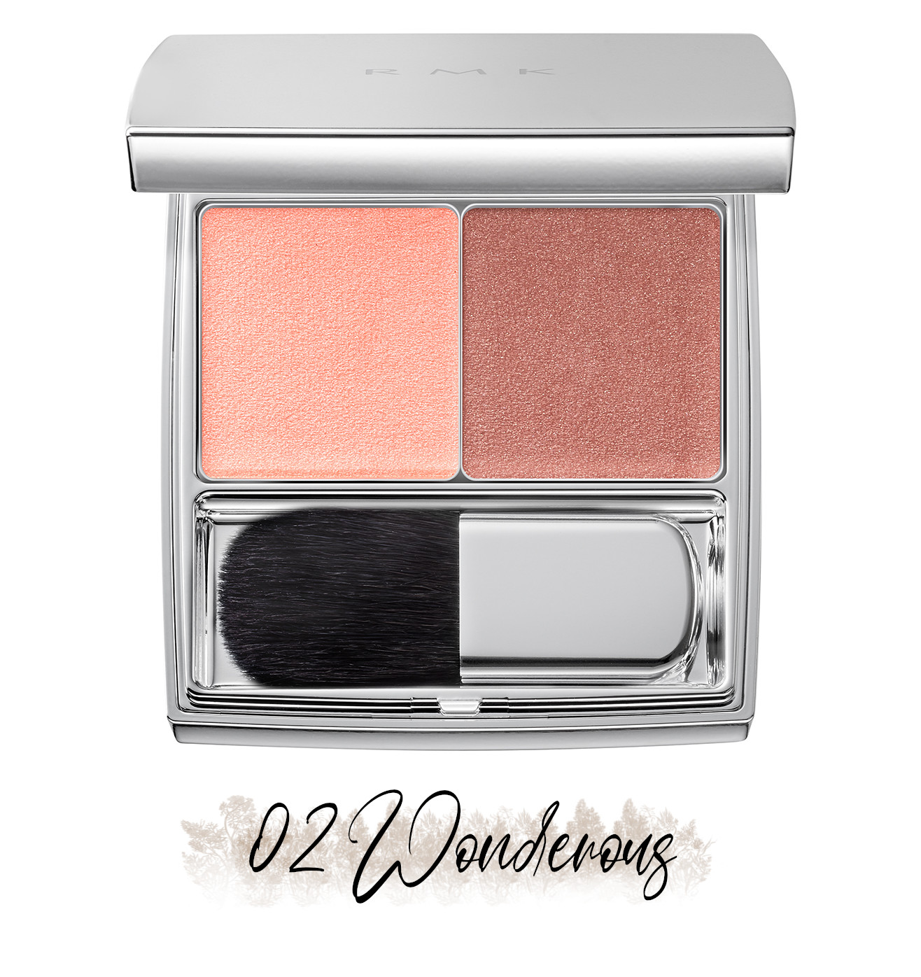 RMK Blooming in the City Spring-Summer 2021 Collection The Beige Library Blush Duo 02 Wonderous