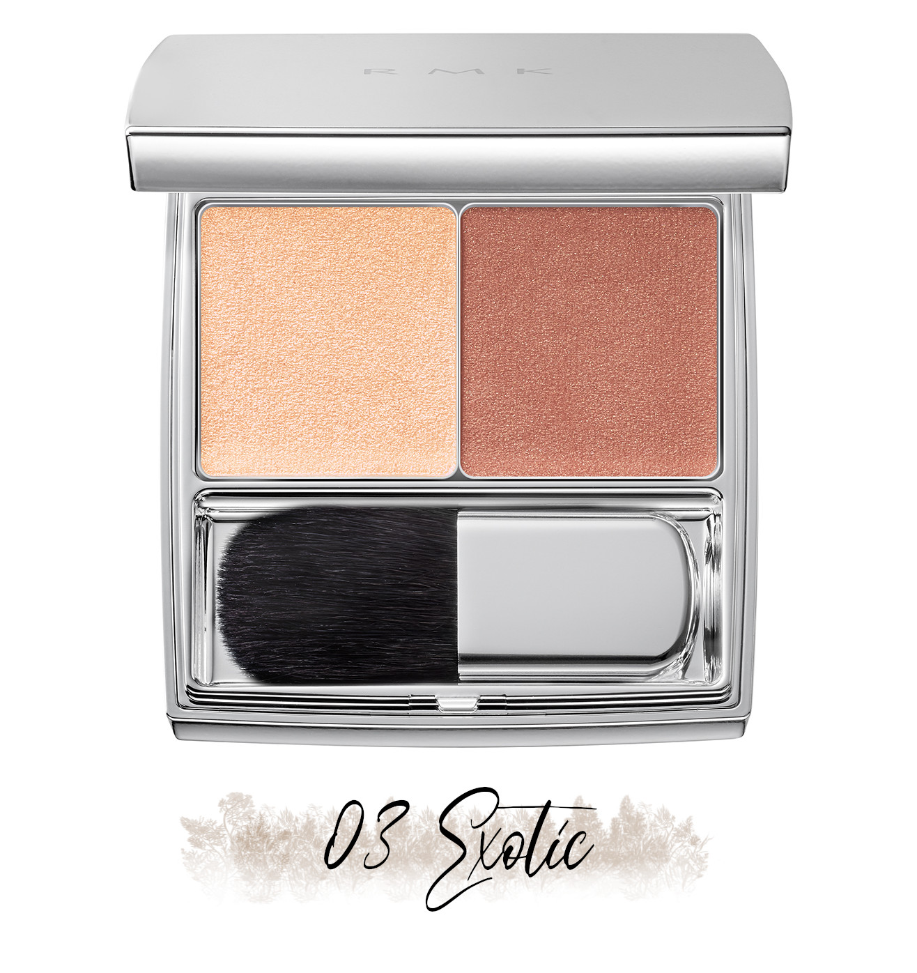 RMK Blooming in the City Spring-Summer 2021 Collection The Beige Library Blush Duo 03 Exotic