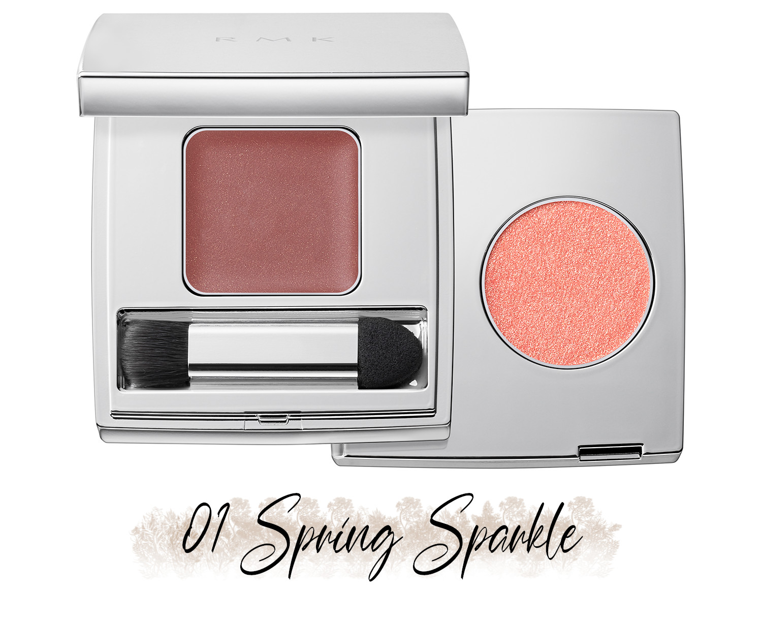 RMK Blooming in the City Spring-Summer 2021 Collection The Beige Library Eyeshadow Duo 01 Spring Sparkle
