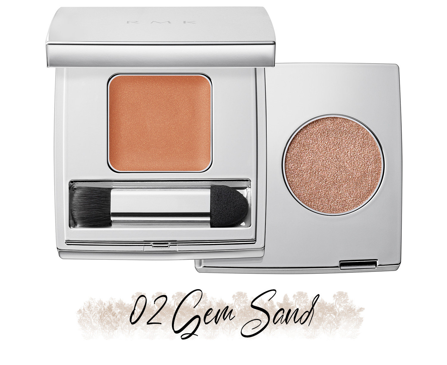 RMK Blooming in the City Spring-Summer 2021 Collection The Beige Library Eyeshadow Duo 02 Gem Sand