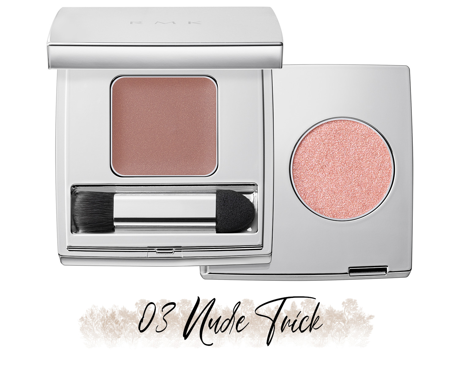RMK Blooming in the City Spring-Summer 2021 Collection The Beige Library Eyeshadow Duo 03 Nude Trick