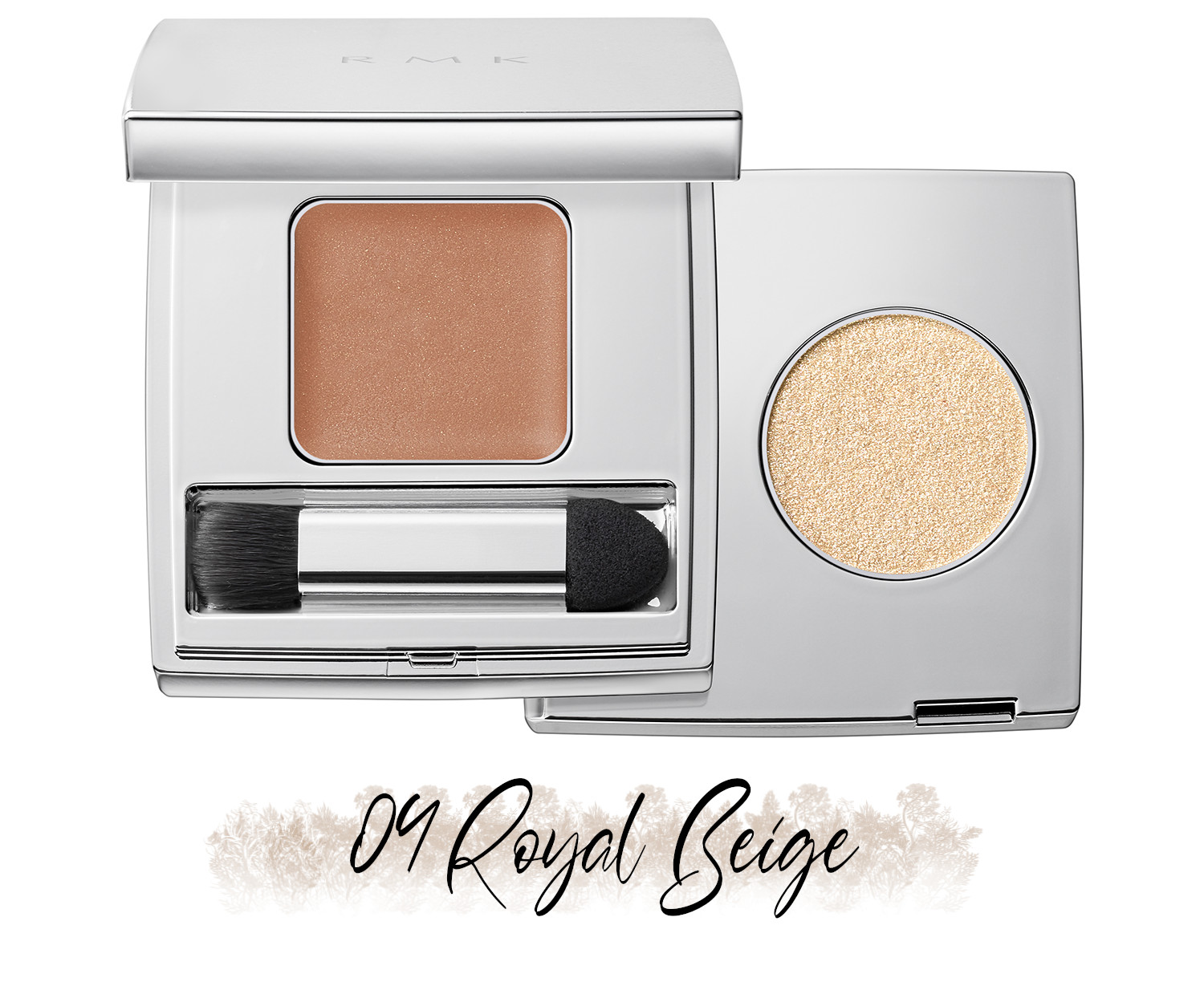RMK Blooming in the City Spring-Summer 2021 Collection The Beige Library Eyeshadow Duo 04 Royal Beige