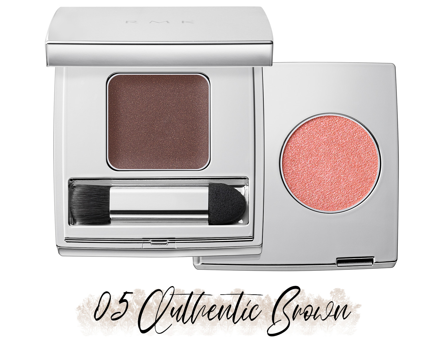 RMK Blooming in the City Spring-Summer 2021 Collection The Beige Library Eyeshadow Duo 05 Authentic Brown