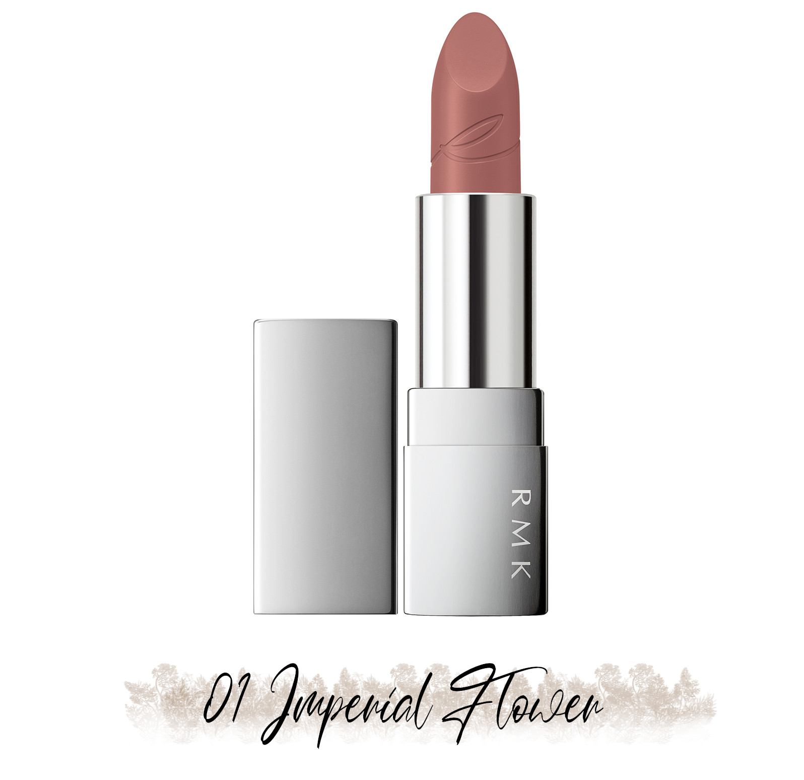 RMK Blooming in the City Spring-Summer 2021 Collection The Beige Library Lipstick 01 Imperial Flower
