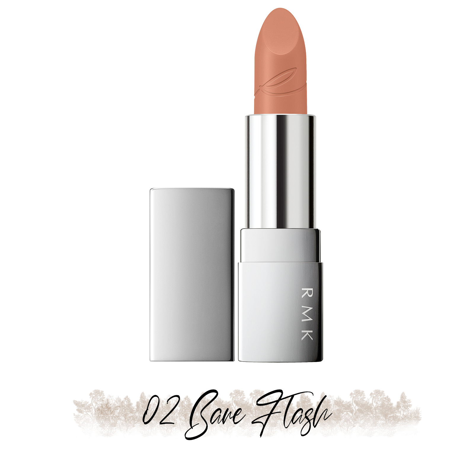 RMK Blooming in the City Spring-Summer 2021 Collection The Beige Library Lipstick 02 Bare Flash