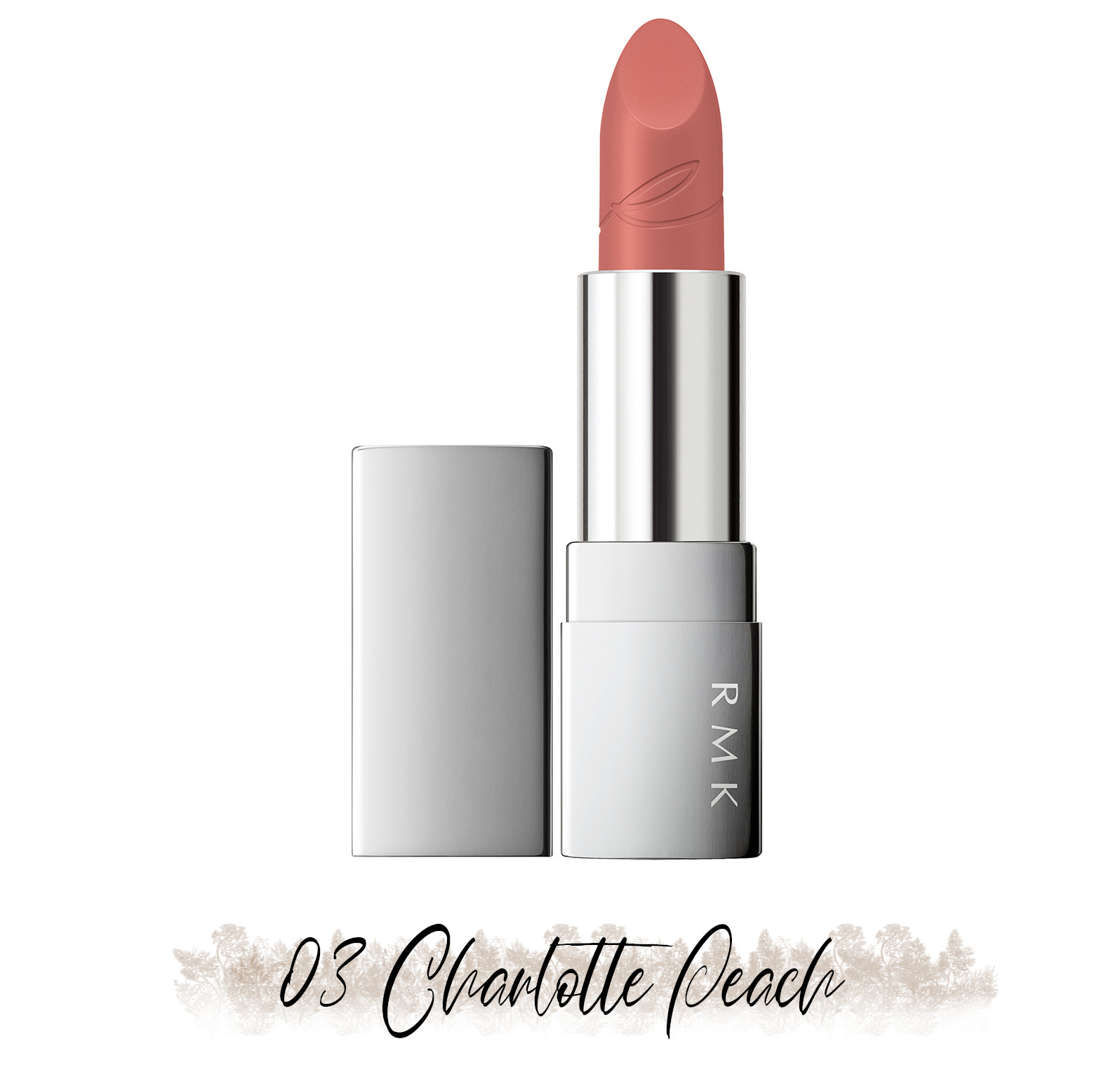 RMK Blooming in the City Spring-Summer 2021 Collection The Beige Library Lipstick 03 Charlotte Peach