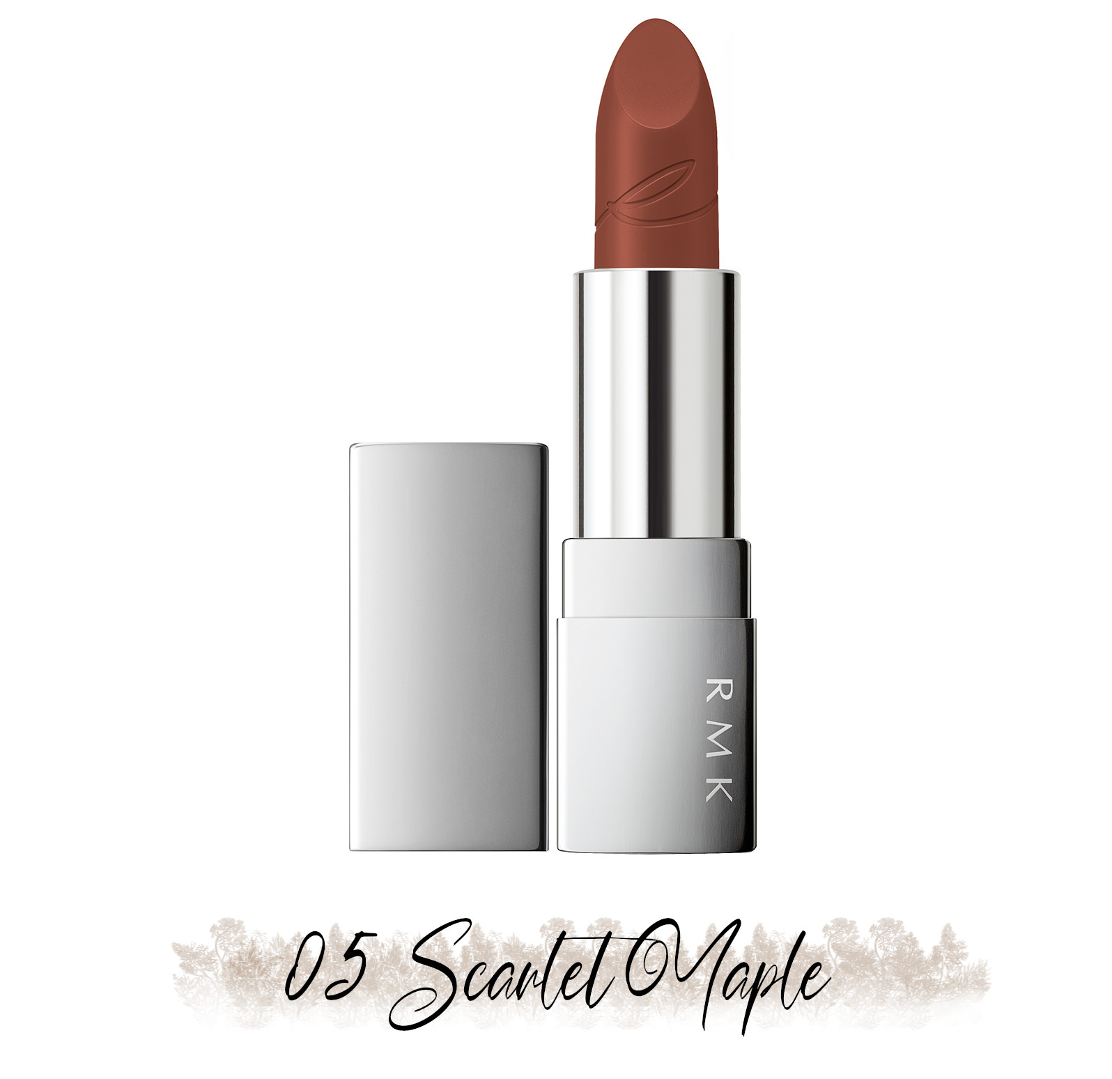 RMK Blooming in the City Spring-Summer 2021 Collection The Beige Library Lipstick 05 Scarlet Maple