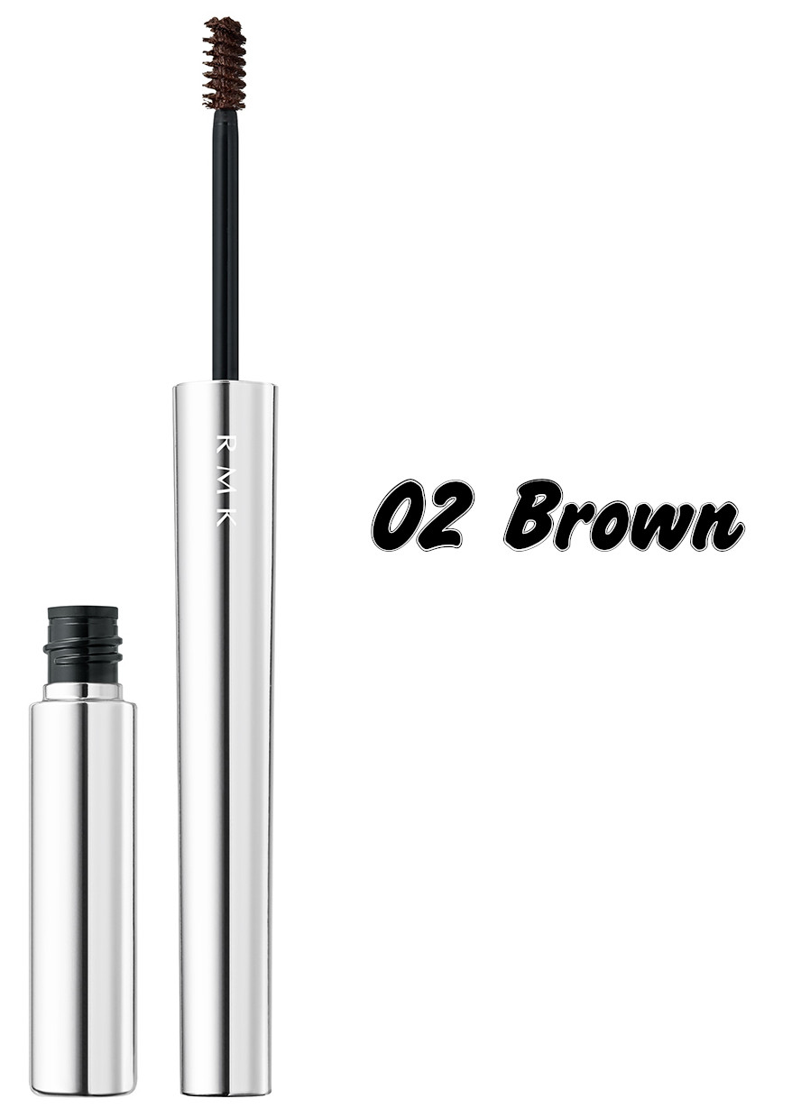 RMK The Now Now Summer 2021 Collection Mini Brush Mascara 02 Brown
