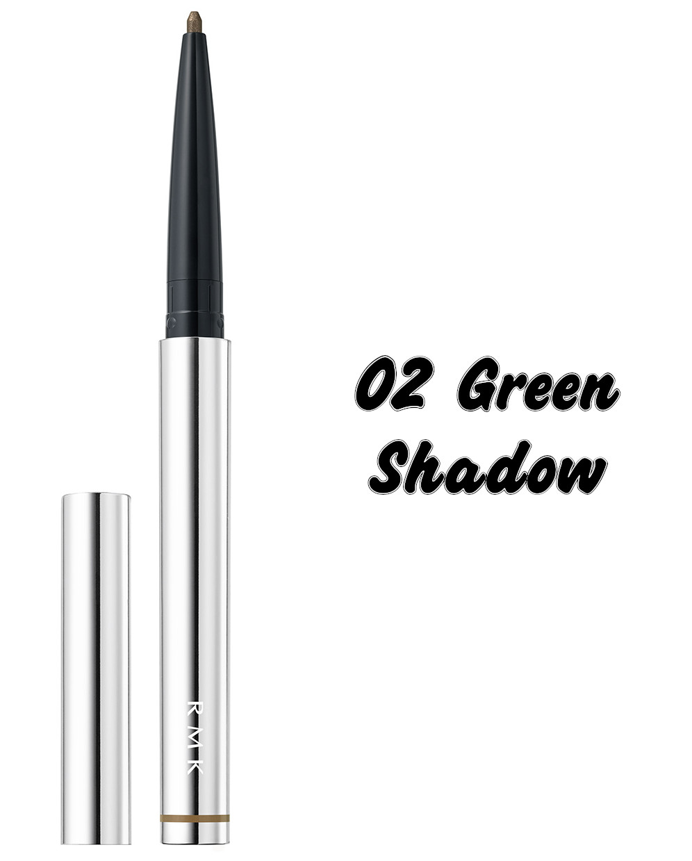 RMK The Now Now Summer 2021 Collection Soft Metallic Eye Pencil 02 Green Shadow