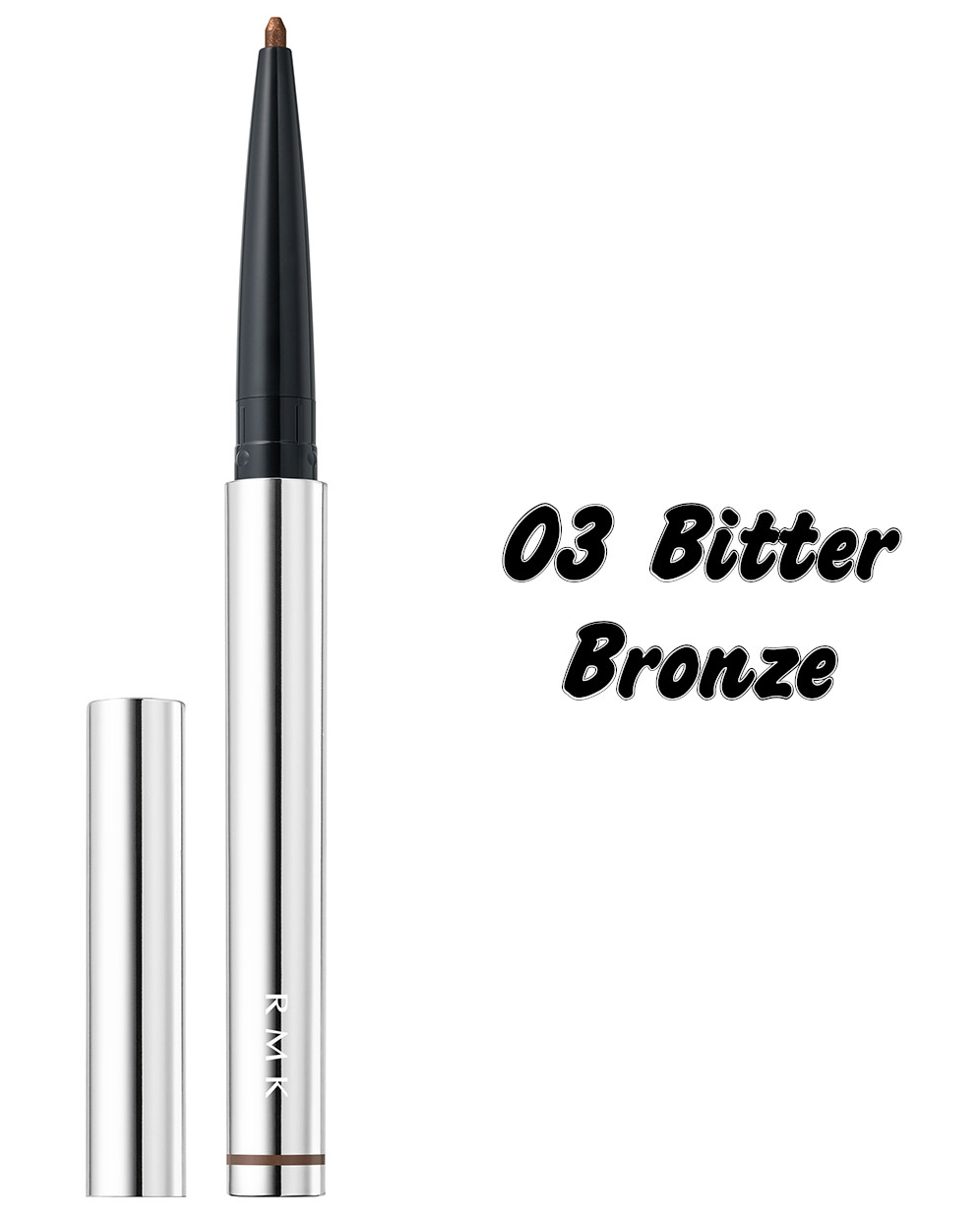 RMK The Now Now Summer 2021 Collection Soft Metallic Eye Pencil 03 Bitter Bronze