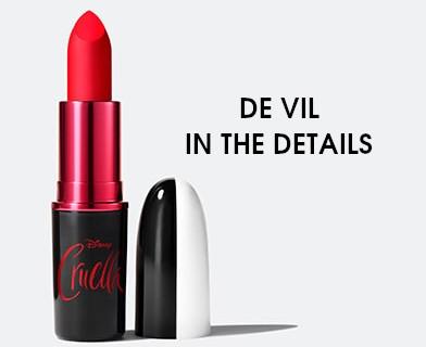 MAC Cruella Collection Lipstick De Vil In The Details
