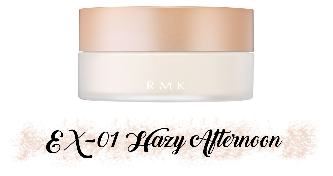 RMK Fall 2021 Collection Rosewood Daydream Airy Touch Finishing Powder EX-01 Hazy Afternoon