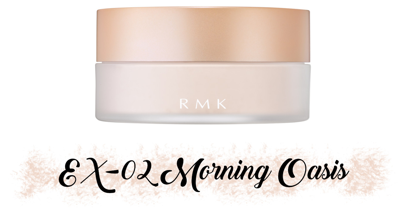 RMK Fall 2021 Collection Rosewood Daydream Airy Touch Finishing Powder EX-02 Morning Oasis