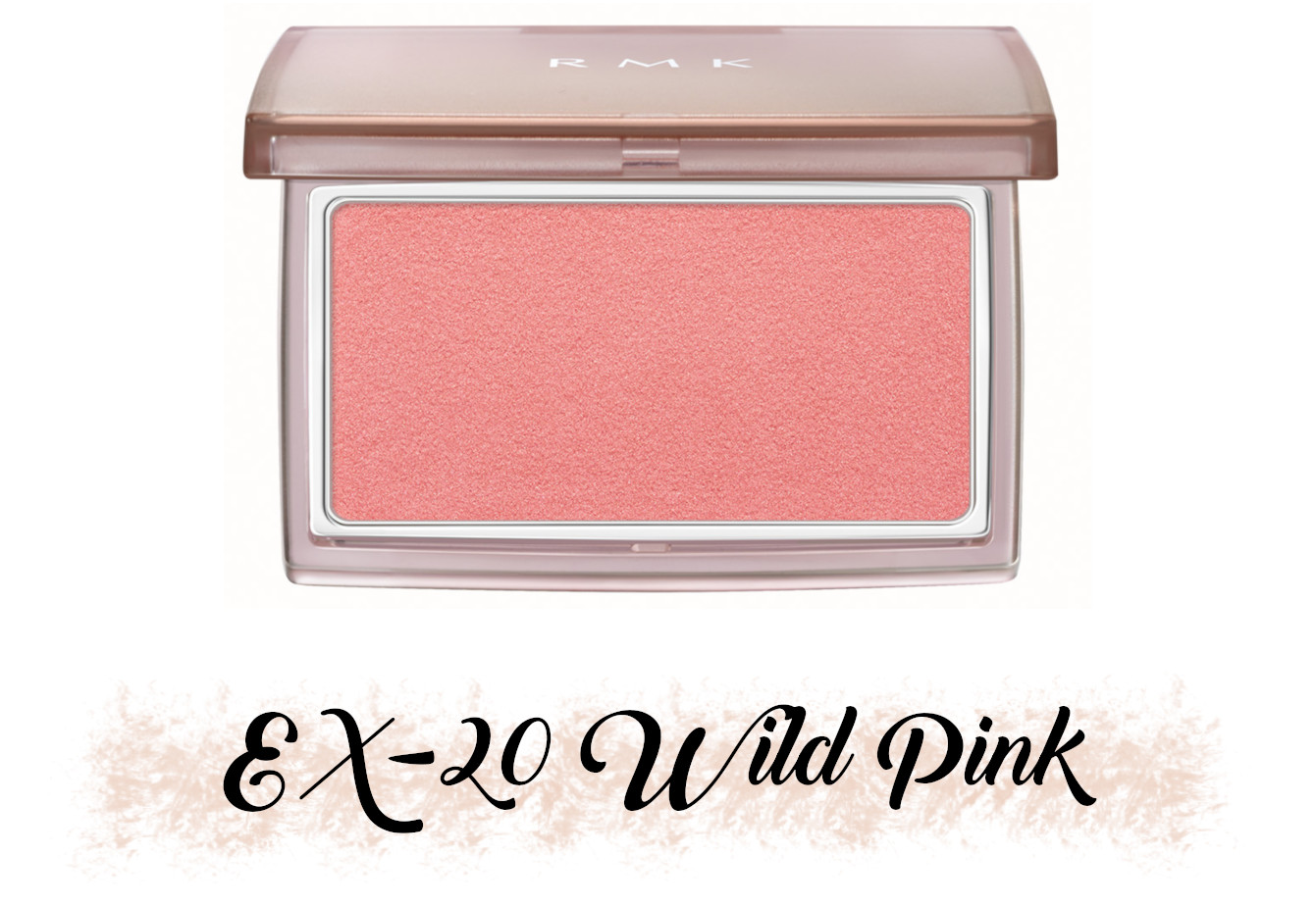 RMK Fall 2021 Collection Rosewood Daydream Ingenious Powder Cheeks N EX-20 Wild Pink