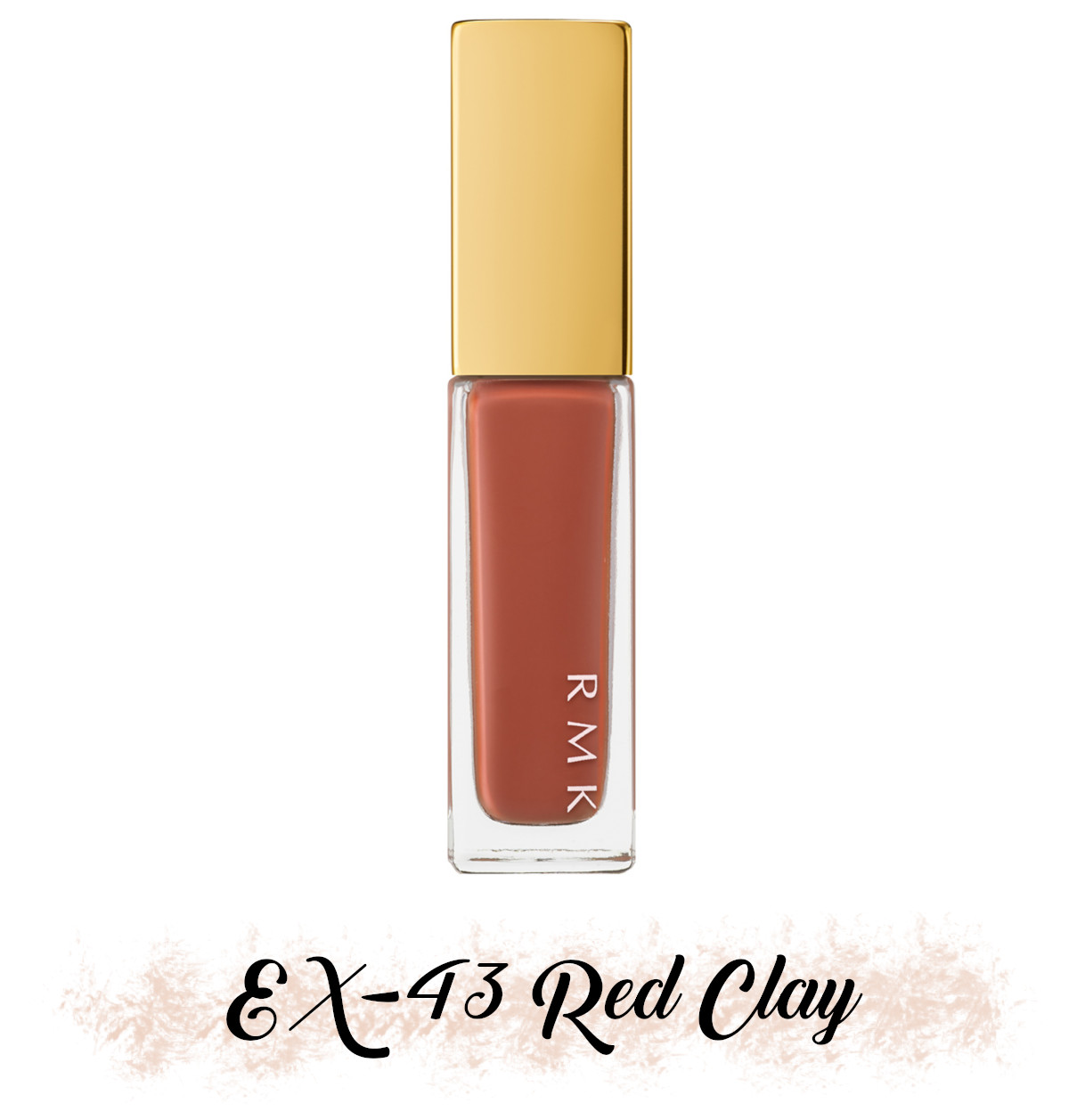 RMK Fall 2021 Collection Rosewood Daydream Nail Polish EX-43 Red Clay