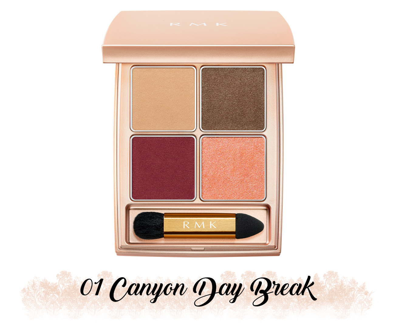 RMK Fall 2021 Collection Rosewood Daydream RMK Rosewood Daydream 4 Eyes 01 Canyon Day Break