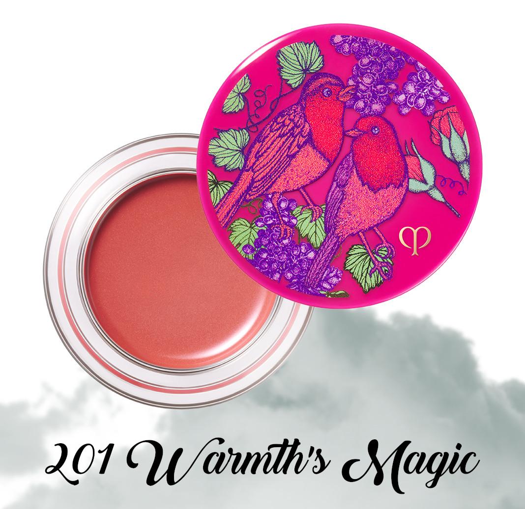 Cle de Peau Beauty Garden Of Splendor Blush Creme 201 Warmth's Magic