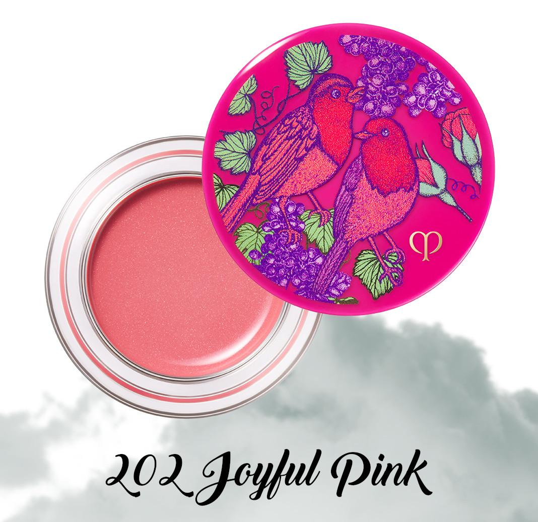 Cle de Peau Beauty Garden Of Splendor Blush Creme 202 Joyful Pink