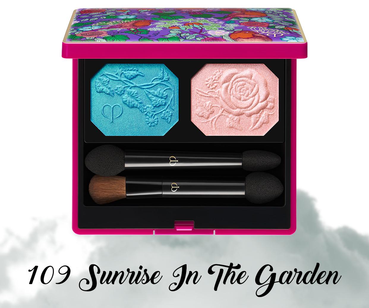 Cle de Peau Beauty Garden Of Splendor Ombres Couleurs Duo 109 Sunrise In The Garden