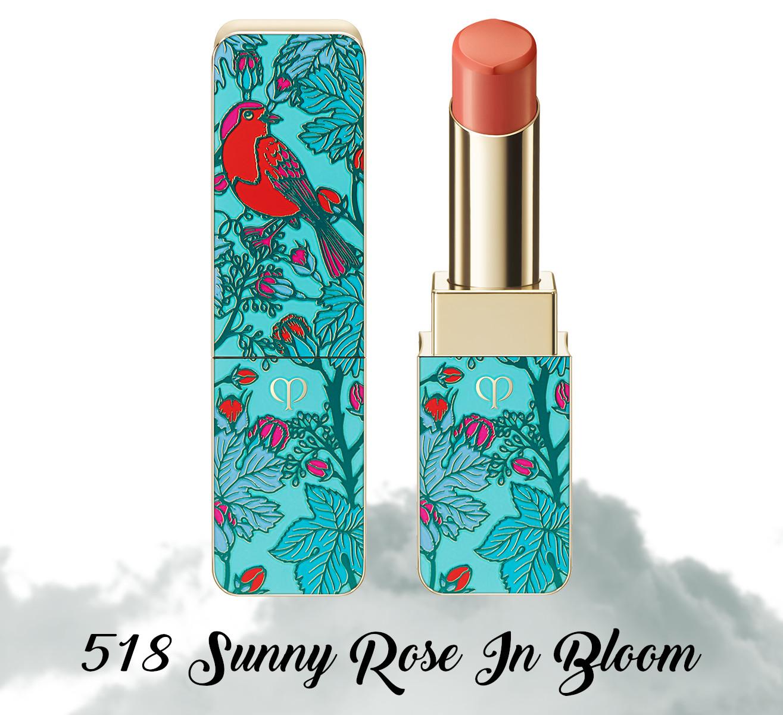Cle de Peau Beauty Garden Of Splendor Rouge A Levres Brillant 518 Sunny Rose In Bloom