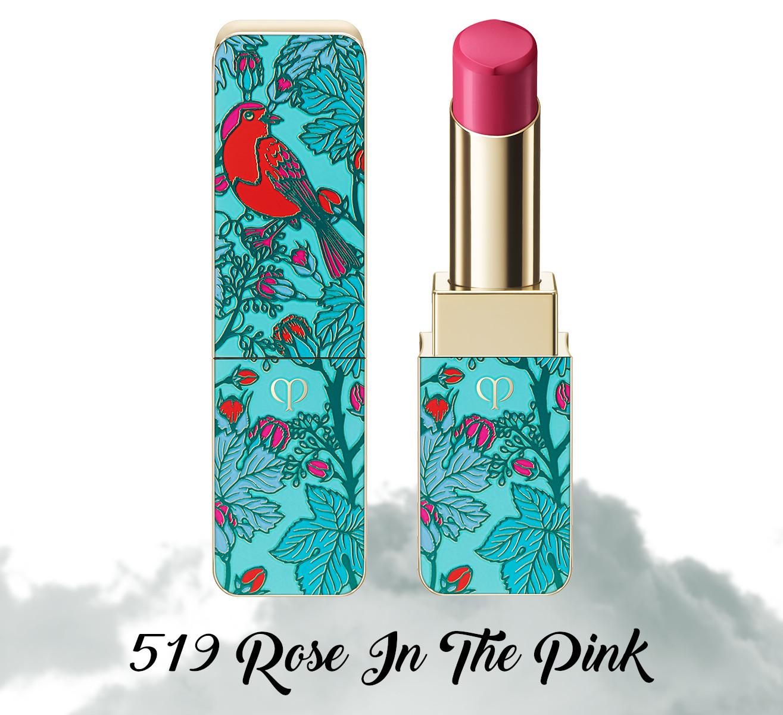 Cle de Peau Beauty Garden Of Splendor Rouge A Levres Brillant 519 Rose In The Pink