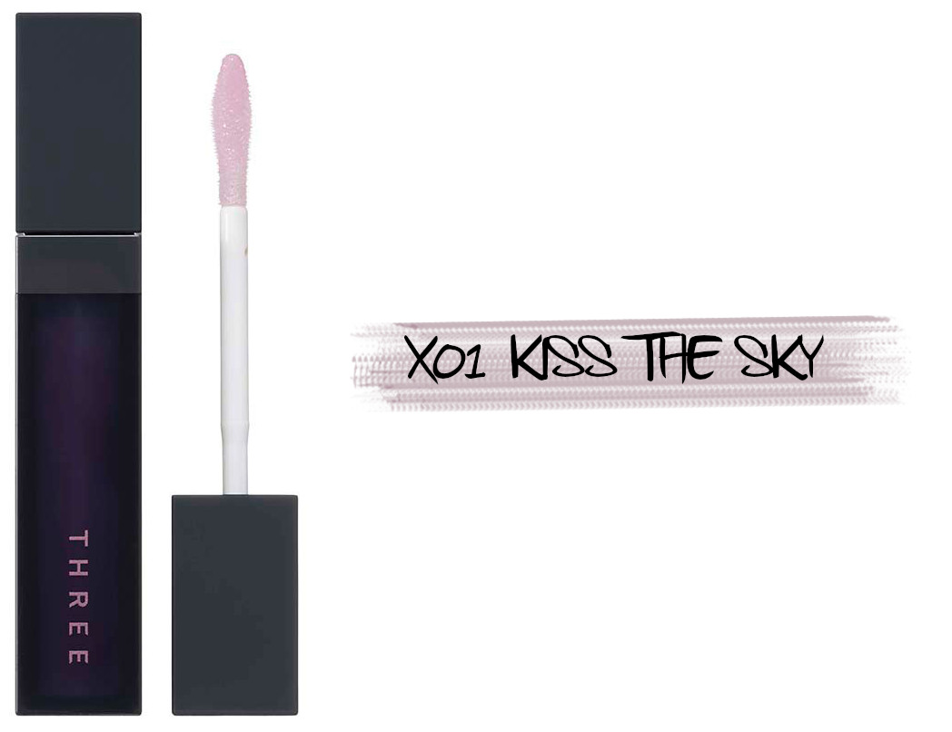 THREE Space Sonic 2021 Autumn Makeup Collection Art Expressionist Mascara Cosmic Kiss Lip Cloud X01 Kiss The Sky
