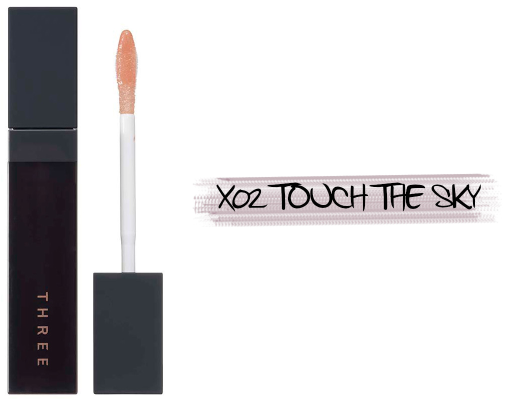 THREE Space Sonic 2021 Autumn Makeup Collection Art Expressionist Mascara Cosmic Kiss Lip Cloud X02 Touch The Sky