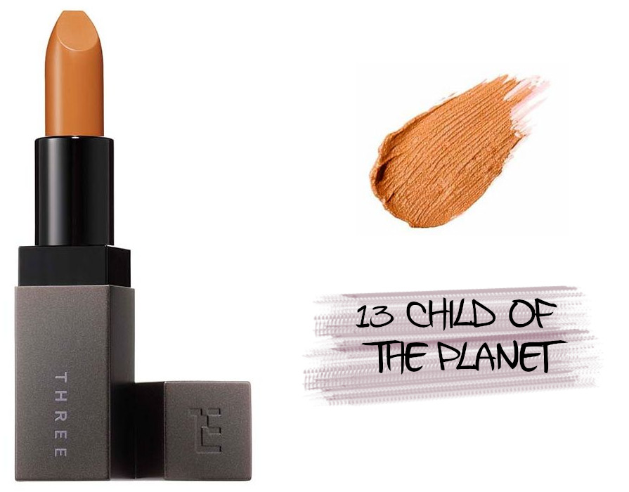 THREE Space Sonic 2021 Autumn Makeup Collection Daringly Distinct Lipstick 13 Child Of The Planet