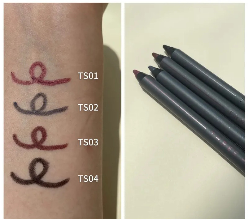 THREE Space Sonic 2021 Autumn Makeup Collection Mesmerizing Performance Eyeliner Pencil swatche