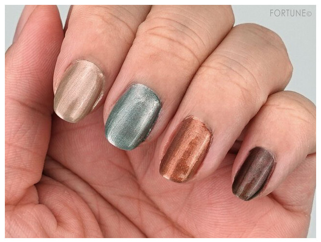 THREE Space Sonic 2021 Autumn Makeup Collection Nail Polish swatche
