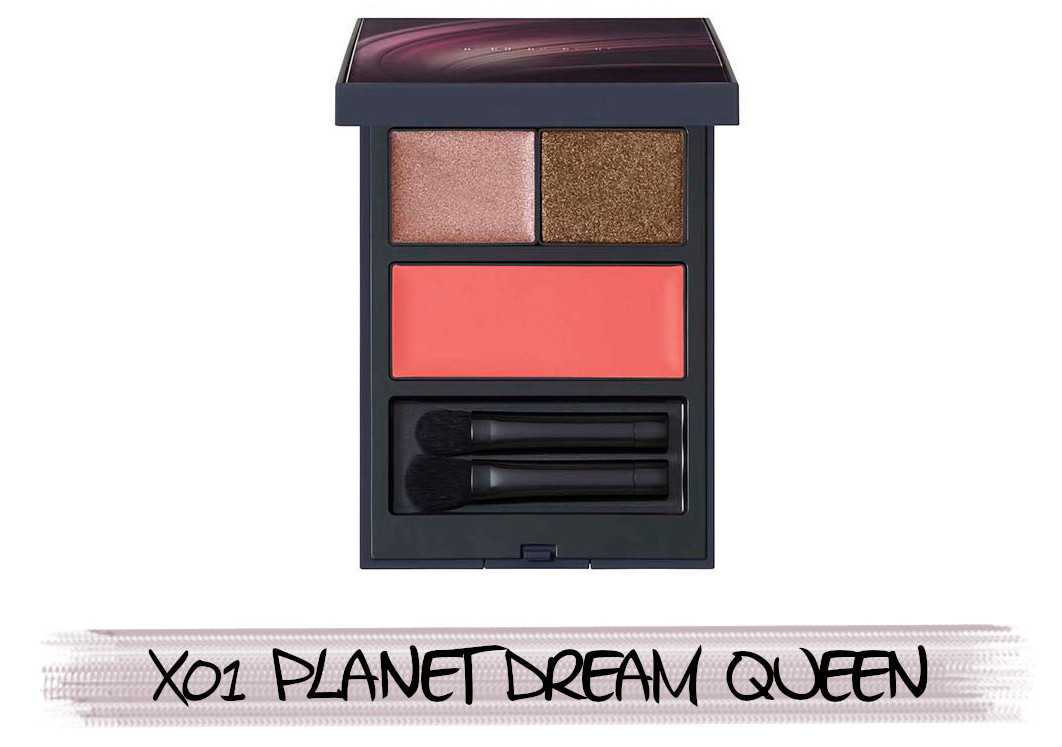 THREE Space Sonic 2021 Autumn Makeup Collection Stardust Dreamer Mood Palette X01 Planet Dream Queen