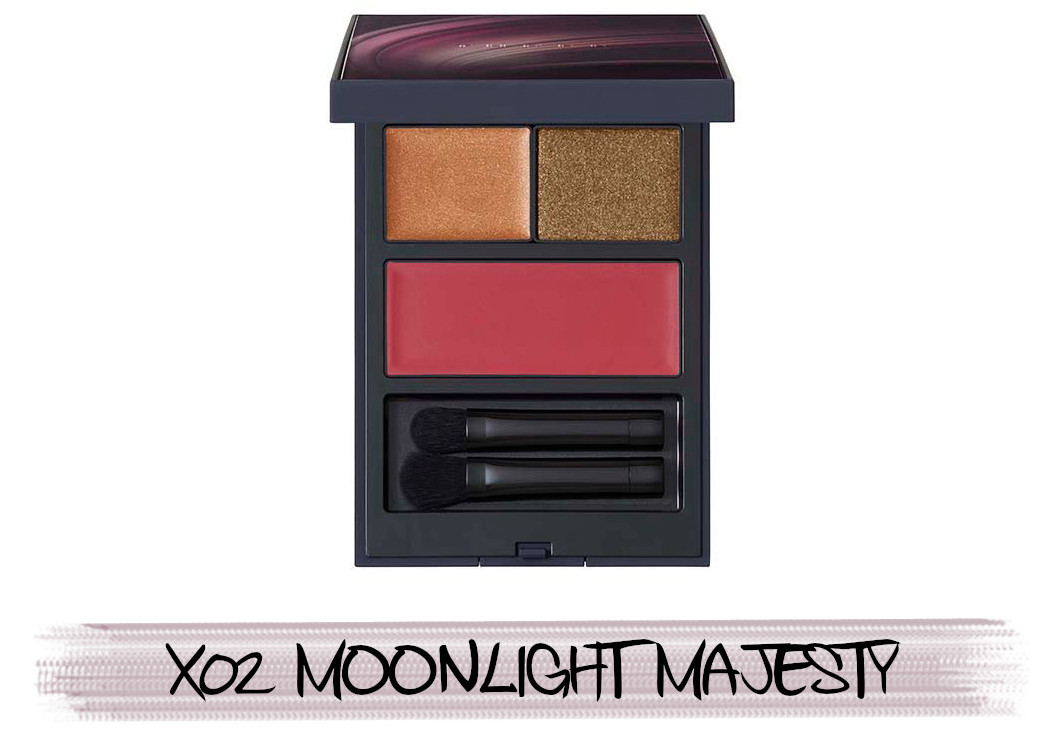 THREE Space Sonic 2021 Autumn Makeup Collection Stardust Dreamer Mood Palette X02 Moonlight Majesty